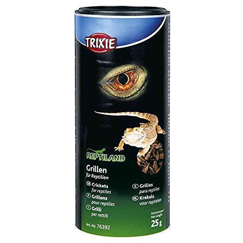 TRIXIE Grillos deshidratados, 250 ml/25 g, Reptiles