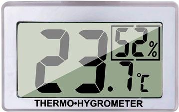 Un higrómetro para el terrario de tu pogona y medir la humedad