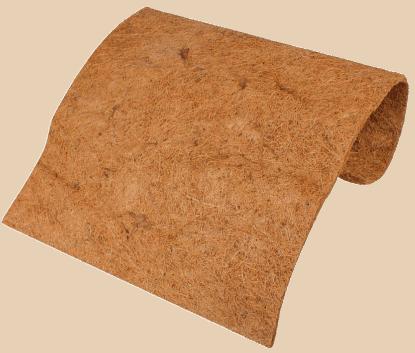 alfombra para terrario pogona de fibra de coco